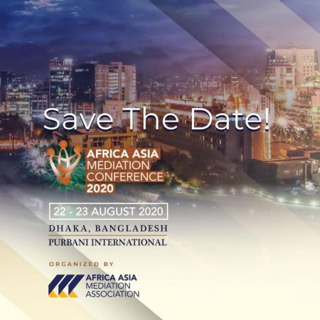 Africa Asia Mediation Conference 22 August 2020